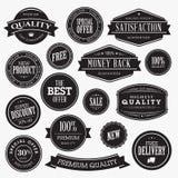 Grupo de etiquetas para a venda Imagens de Stock Royalty Free