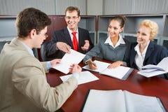 Grupo de executivos Foto de Stock Royalty Free