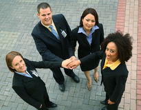 Grupo de executivos bem sucedidos foto de stock royalty free