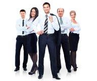 Grupo de executivos da equipe. foto de stock