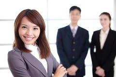 Grupo de executivos do sucesso Fotografia de Stock Royalty Free