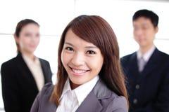 Grupo de executivos do sucesso Foto de Stock Royalty Free