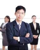 Grupo de executivos do sucesso Fotografia de Stock