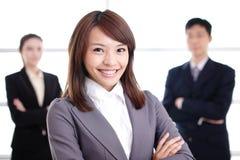 Grupo de executivos do sucesso Fotos de Stock