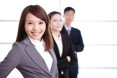 Grupo de executivos do sucesso Imagem de Stock