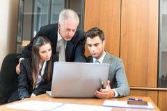 Grupo de executivos no trabalho Imagem de Stock