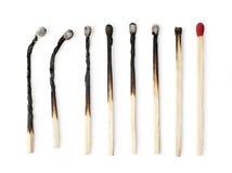 Grupo de fósforo queimado Fotos de Stock Royalty Free