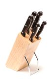 Grupo de facas Fotografia de Stock Royalty Free