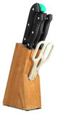 Grupo de facas para a cozinha Imagem de Stock Royalty Free