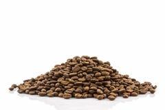 Grupo de feijões de café roasted Imagens de Stock