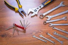 Grupo de ferramentas Foto de Stock Royalty Free