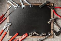 Grupo de ferramentas de DIY Foto de Stock Royalty Free