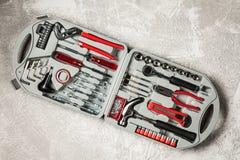 Grupo de ferramentas de DIY Imagem de Stock