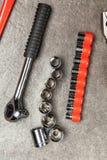 Grupo de ferramentas de DIY Foto de Stock