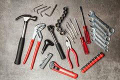 Grupo de ferramentas de DIY Fotografia de Stock Royalty Free