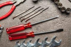 Grupo de ferramentas de DIY Imagem de Stock Royalty Free