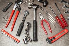 Grupo de ferramentas de DIY Imagens de Stock Royalty Free