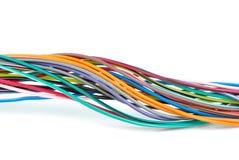 Grupo de fios coloridos diferentes Foto de Stock