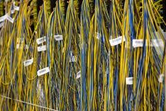 Grupo de fios elétricos Fotos de Stock