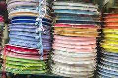 Grupo de fitas coloridas Fotografia de Stock