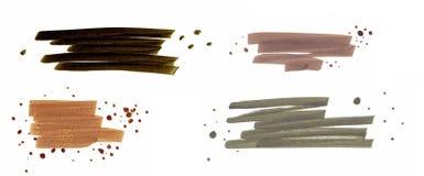 Grupo de fitas da escova Imagem de Stock
