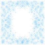 Grupo de flocos de neve Fotografia de Stock Royalty Free