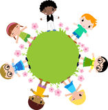 Grupo de flor das crianças Foto de Stock