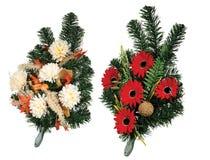 Grupo de flores graves Fotos de Stock Royalty Free