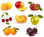 Grupo de fruta. Fotos de archivo
