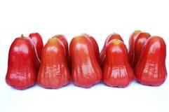 Grupo de fruta de las pomarrosas Imagen de archivo