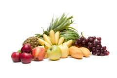 Grupo de frutas Imagens de Stock Royalty Free