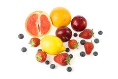 Grupo de frutas Fotos de archivo libres de regalías