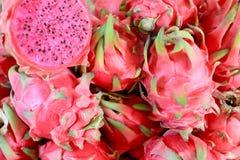 Grupo de frutas do dragão imagem de stock royalty free
