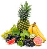 Grupo de frutas frescas imágenes de archivo libres de regalías