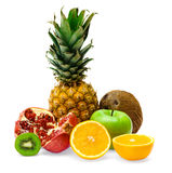Grupo de frutas frescas Fotografía de archivo libre de regalías