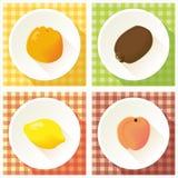 Grupo de fruto Imagem de Stock