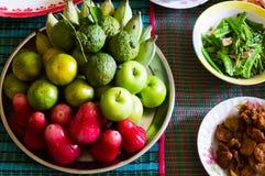 Grupo de fruto no respeito do antepassado Imagens de Stock