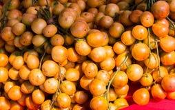 Grupo de fruto de Rambeh imagem de stock royalty free