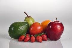 Grupo de frutos Fotografia de Stock Royalty Free