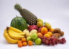 Grupo de frutos Imagem de Stock Royalty Free