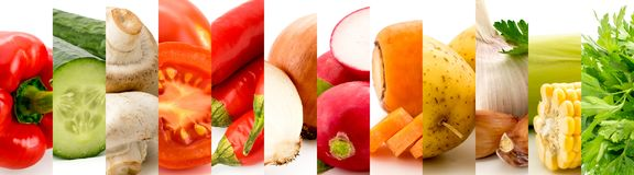 Grupo de 12 frutos em um branco fotografia de stock