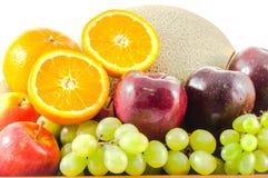 Grupo de frutos maduros Fotografia de Stock
