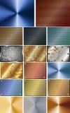 Grupo de fundo abstrato do metal Imagens de Stock Royalty Free