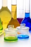 Grupo de garrafas cónicas Imagem de Stock Royalty Free
