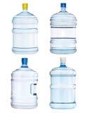 Grupo de garrafas grandes Fotografia de Stock Royalty Free