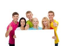 Grupo de gente joven Imagen de archivo libre de regalías