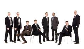 Grupo de gerência Imagens de Stock Royalty Free