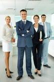Grupo de gerentes Fotografia de Stock Royalty Free