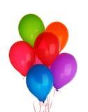 Grupo de globos coloridos Fotos de archivo libres de regalías