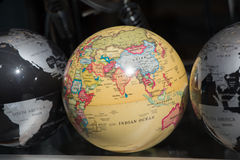 Grupo de globos de vários tipos Imagens de Stock